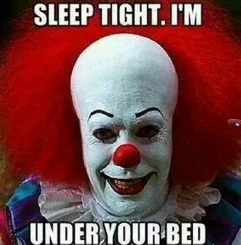 Scary Meme - scary clown meme creepy clown meme sci fi horror