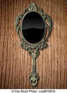 Miroir à Main : main ch ne rouges miroir ancien ch ne main bois miroir rouges ~ Teatrodelosmanantiales.com Idées de Décoration
