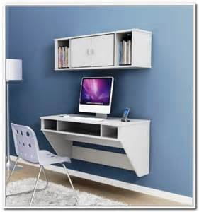 Wall Mounted Laptop Desk Ikea by Ikea Floating Desk Selections With Lack Shelf Homesfeed