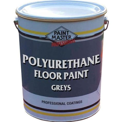 Polyurethane Floor Paint Greys