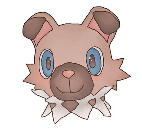 cute iwanko rockruff pokemon poster  littlesushibox