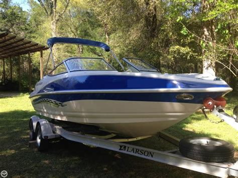 Larson Boats Senza 186 by 2007 Used Larson Senza 186 Bowrider Boat For Sale