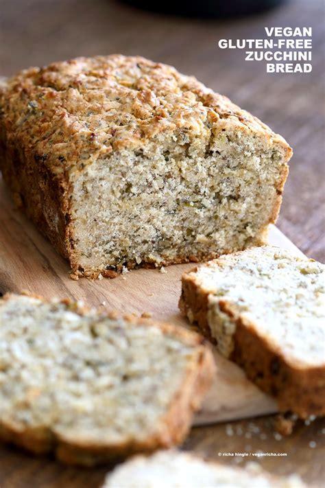 vegan gluten  zucchini bread recipe vegan richa