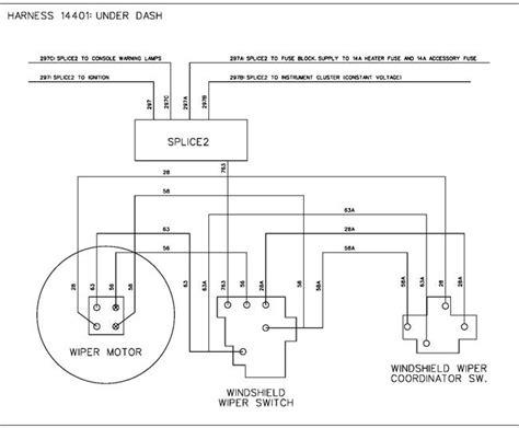 99 Mercury Wiper Motor Wiring by 1968 Wiring Harness Diagram Wiring Diagram