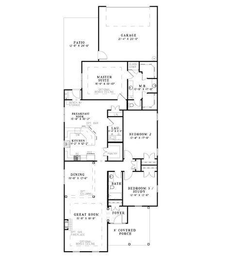 narrow house floor plans narrow lot 4 bedroom house plans home mansion