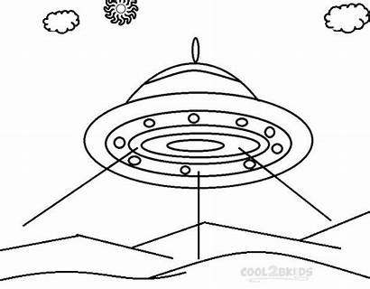Coloring Spaceship Pages Space Printable Cool2bkids Ship