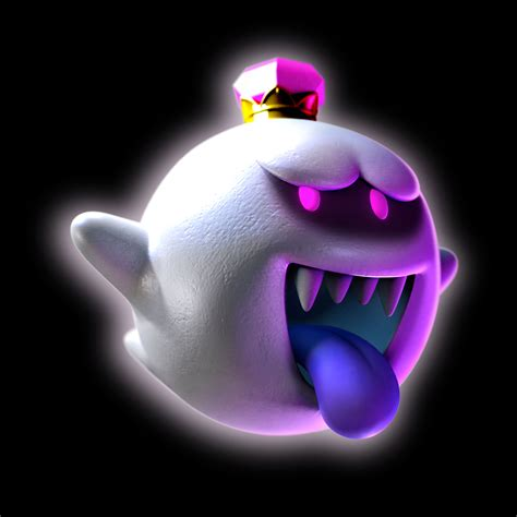 King Boo Looks Scary As Ever In Luigis Mansion Dark Moon