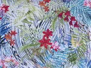 Tissu Imprimé Tropical : tissu jersey polyamide elasthanne imprim tropical the sweet mercerie ~ Teatrodelosmanantiales.com Idées de Décoration