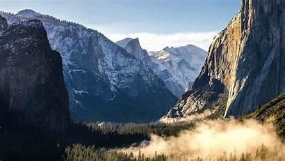 Mountains Desktop Yosemite Park National Wallpapers Nature