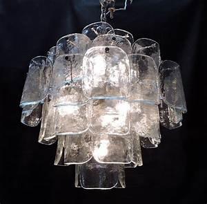 Murano Glass Chandelier Modern : mid century modern murano venetian glass disc chandelier or murano chandelier mid century ~ Sanjose-hotels-ca.com Haus und Dekorationen