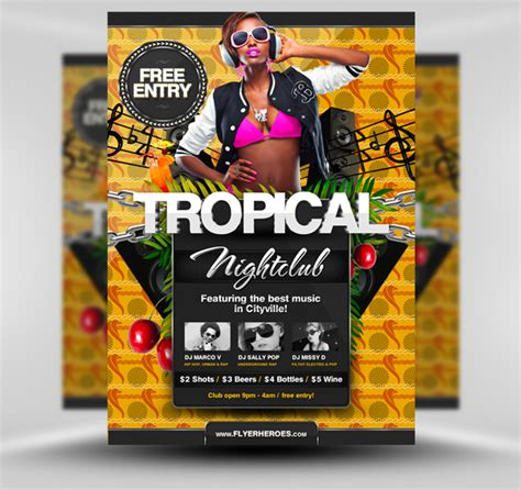Free Flyer Templates by 30 Amazing Free Flyer Templates From Flyerheroes Extras