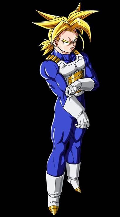 Trunks Saiyan Super Future Dragon Ball Hair