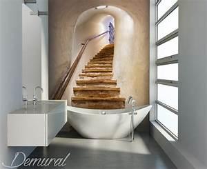 Papier Peint Pour Salle De Bain : douces mirages papier peint pour la salle de bain ~ Dailycaller-alerts.com Idées de Décoration