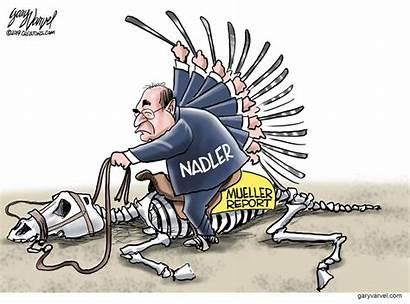 Dead Cartoons Gary Varvel Nadler Political Donkey