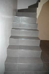revgercom habiller un escalier en carrelage idee With repeindre un escalier en gris 8 la renovation dun escalier isolation et domotique pour