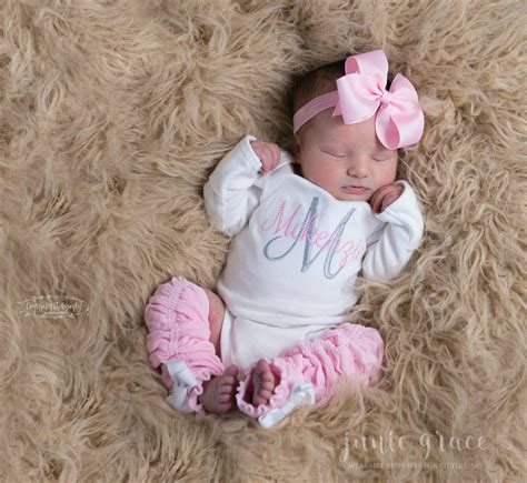 Baby Girl Coming Home Outfit Baby Girl Clothes Newborn Girl   Etsy