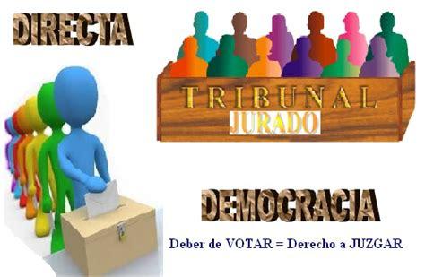 La democracia en suiza, sin llegar al extremo de la ateniense es un caso de. PROYECTO JURADOS (PROJURADOS): DEMOCRACIA PARTICIPATIVA ...