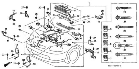 Engine Wire Harness For Honda Civic Coupe Cheaper