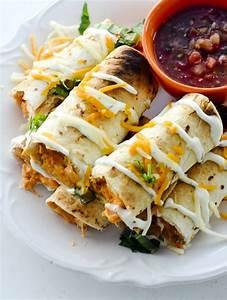 baked bufffalo chicken taquitos recipe diaries