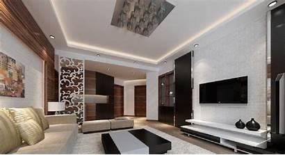 Living Interior Wall Designs Tv Wallpapers Brick
