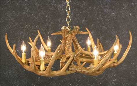 Elk Antler Chandeliers For Sale by Whitetail 9 Antler Chandelier Sale