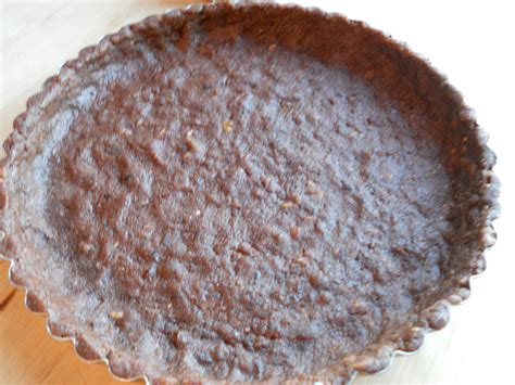 Raw Vegan Bittersweet Chocolate Tart Gluten Free Eat