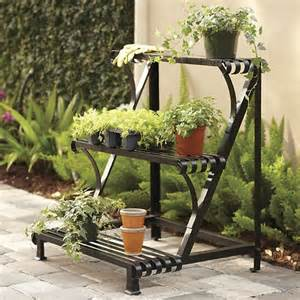 Patio Plant Stand Ideas by Best Tips For Shopping The Right Outdoor Plant Stand