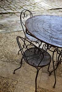 repeindre une table en fer choosewellco With repeindre une table en fer