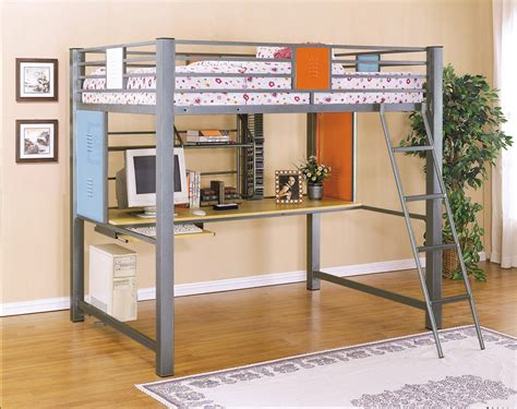 bed and desk set powell teen trends full loft study bunk bed price 1 016