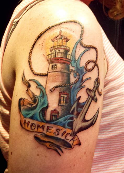Lighthouse Tattoos Designs, Ideas And Meaning Tattoos