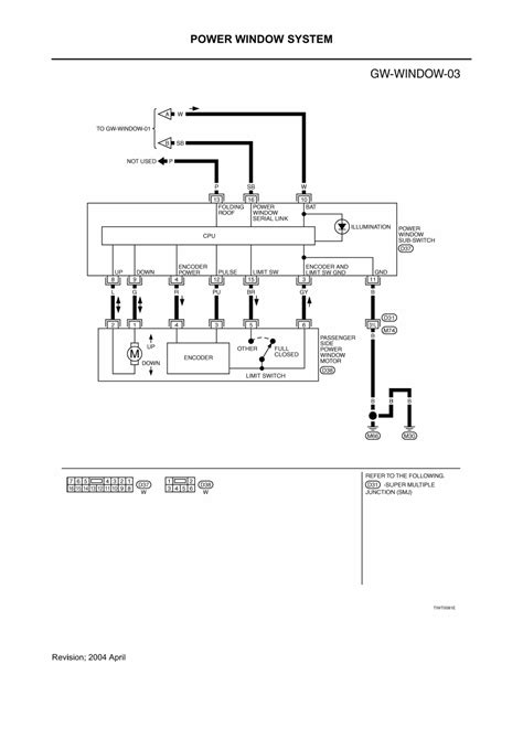 2006 Nissan Maxima Wiring Diagram Window by Repair Guides Glasses Window Systems Mirrors 2003