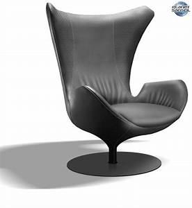 Fauteuil Salon Design : un fauteuil design bluetooth chez natuzzi ~ Teatrodelosmanantiales.com Idées de Décoration