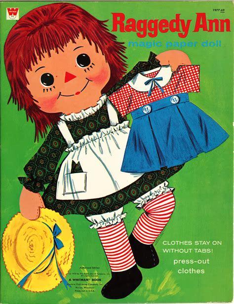 Miss Missy Paper Dolls Raggedy Ann