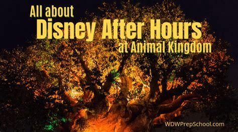 disney hours animal kingdom cost plan
