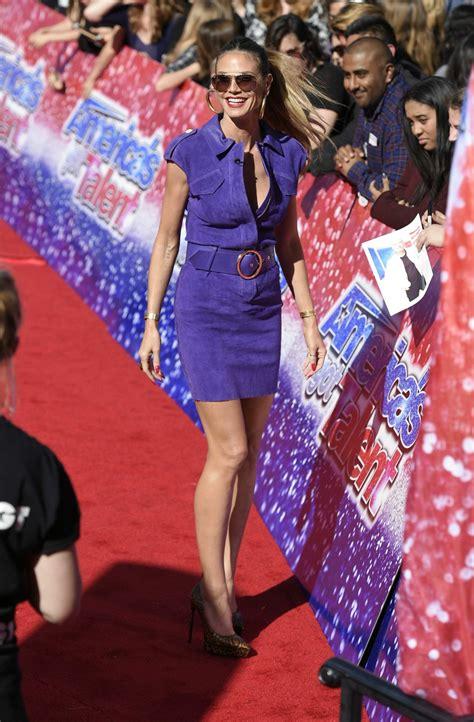 Heidi Klum America Got Talent Season Kick Off Event