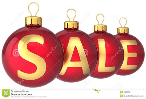 christmas sale baubles hi res stock image image 17265861