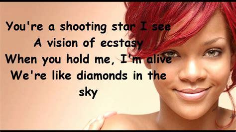 rihanna diamonds lyrics chords chordify