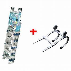 Echelle De Toit : pack chelle de toit klipeo crochet de faitage ~ Edinachiropracticcenter.com Idées de Décoration