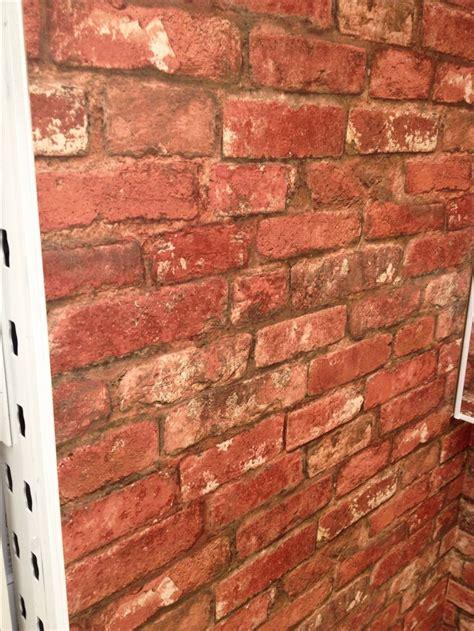 bq brick wallpaper bathroom ideas pinterest brick