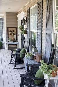 55, Luxury, Farmhouse, Front, Porch, Decor, Ideas