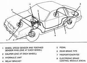 2002 Cadillac Deville Front Wheel Speed Sensor