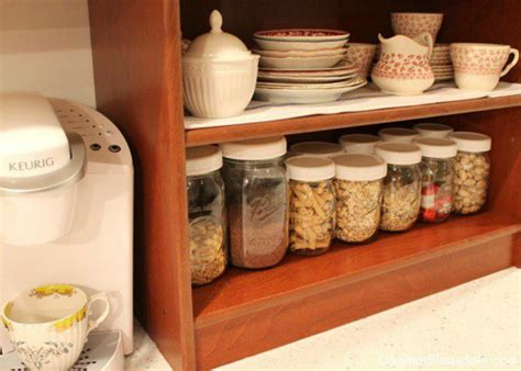 rid  kitchen countertop clutter   clever mason