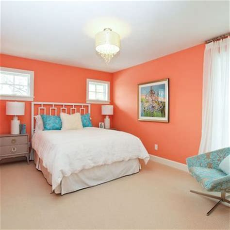 coral color bedroom accents bedroom wall color design ideas pictures remodel