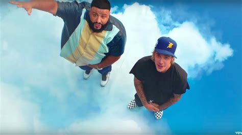 Justin Bieber Is All Smiles In Dj Khaled's Star-studded