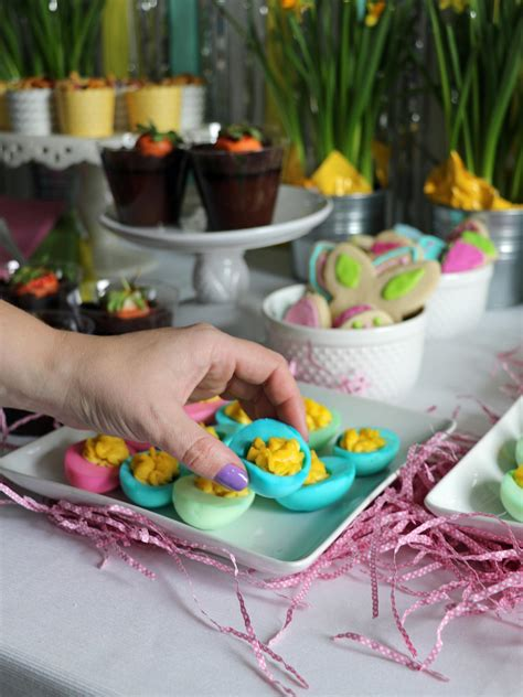 easter crafting party  adults entertaining ideas