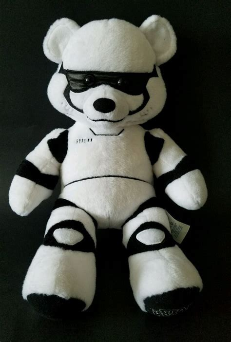 BUILD A BEAR WORKSHOP STORMTROOPER PLUSH TOY STAR WARS THE ...