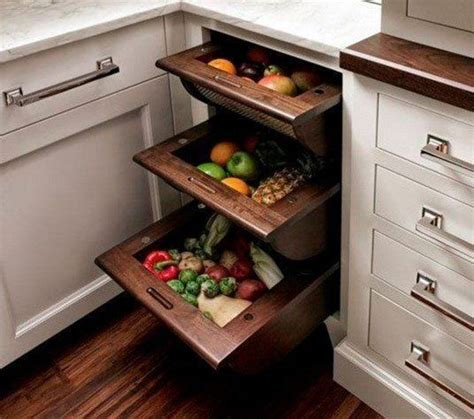 insanely clever storage solutions  fruits  vegetables