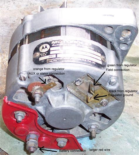 Cj5 3 Wire Alternator Wiring Diagram by What Alternator Is On My 1972 Jeep Cj5 With The 304 V8 My