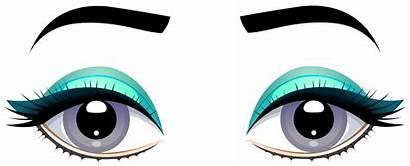 Eyes Clipart Eyebrows Grey Female Clip Transparent