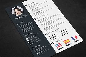 Resume Templates In Ms Word Creative Resume Cv Template With Cover Letter And